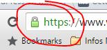 WordPress auf HTTPS umstellen Die grüne https URL