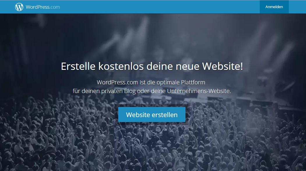 Was ist ein WordPress Multisite Network_wordpress com