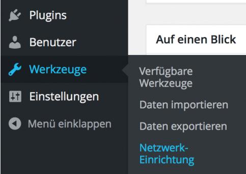 WordPress Multisite einrichten - Ein neues Verzeichnis anlegen